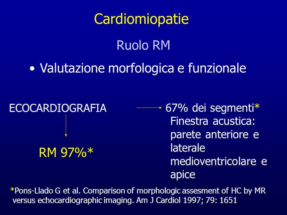 Valutazione morfologica e funzionale