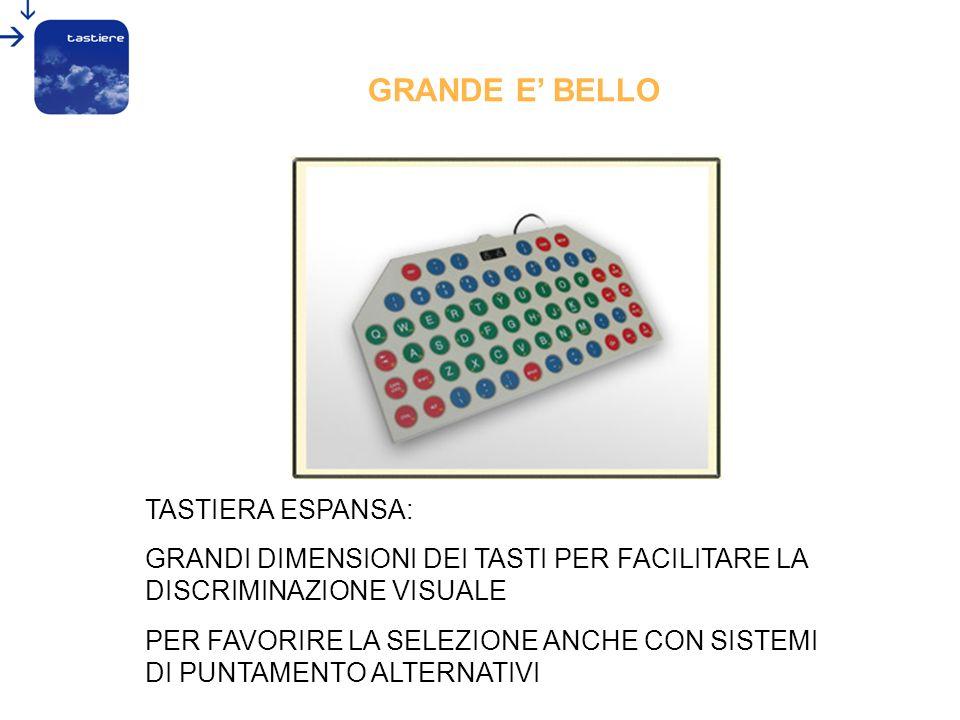 GRANDE E' BELLO TASTIERA ESPANSA: