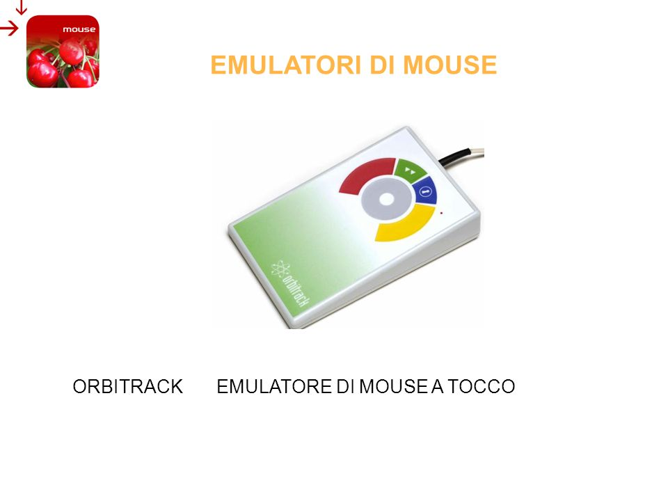 EMULATORI DI MOUSE ORBITRACK EMULATORE DI MOUSE A TOCCO
