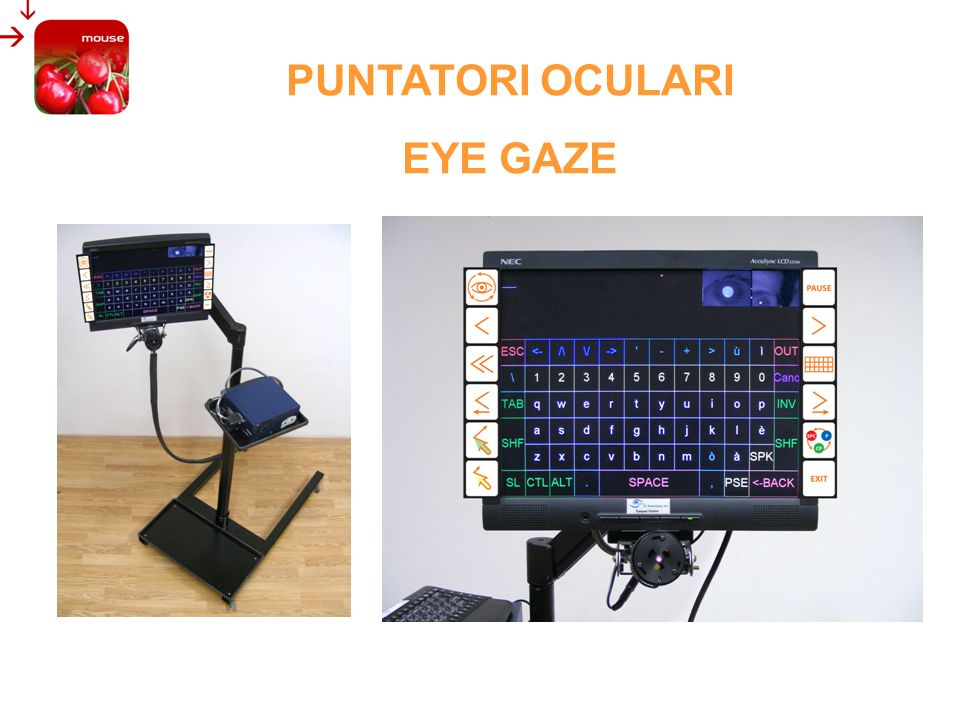 PUNTATORI OCULARI EYE GAZE