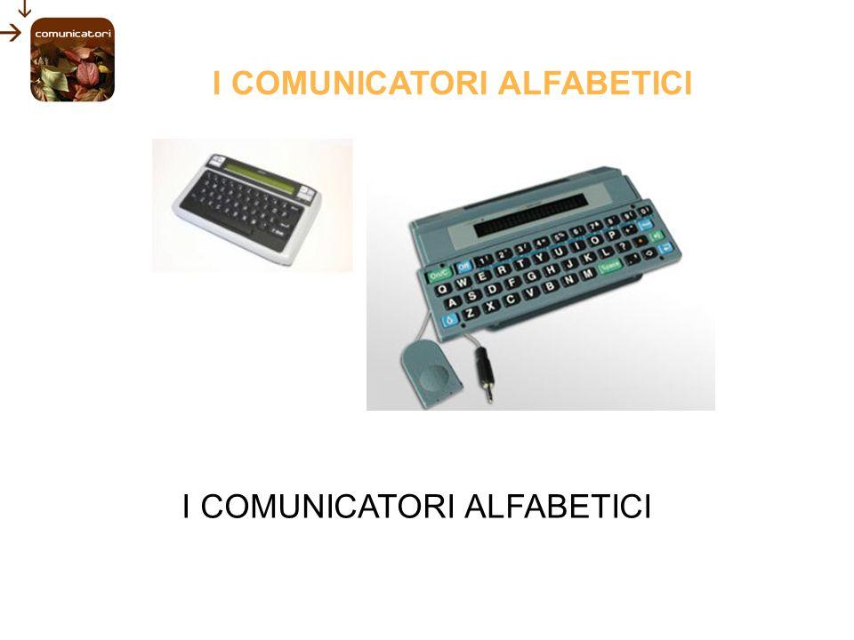I COMUNICATORI ALFABETICI
