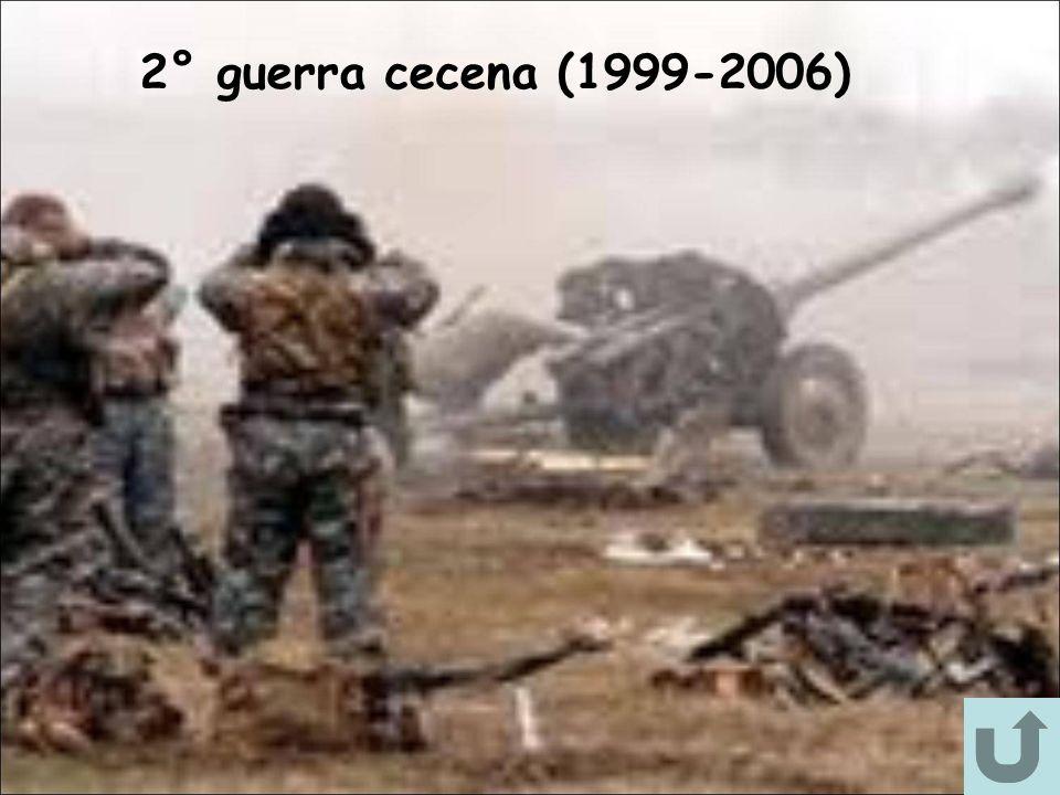 2° guerra cecena (1999-2006)