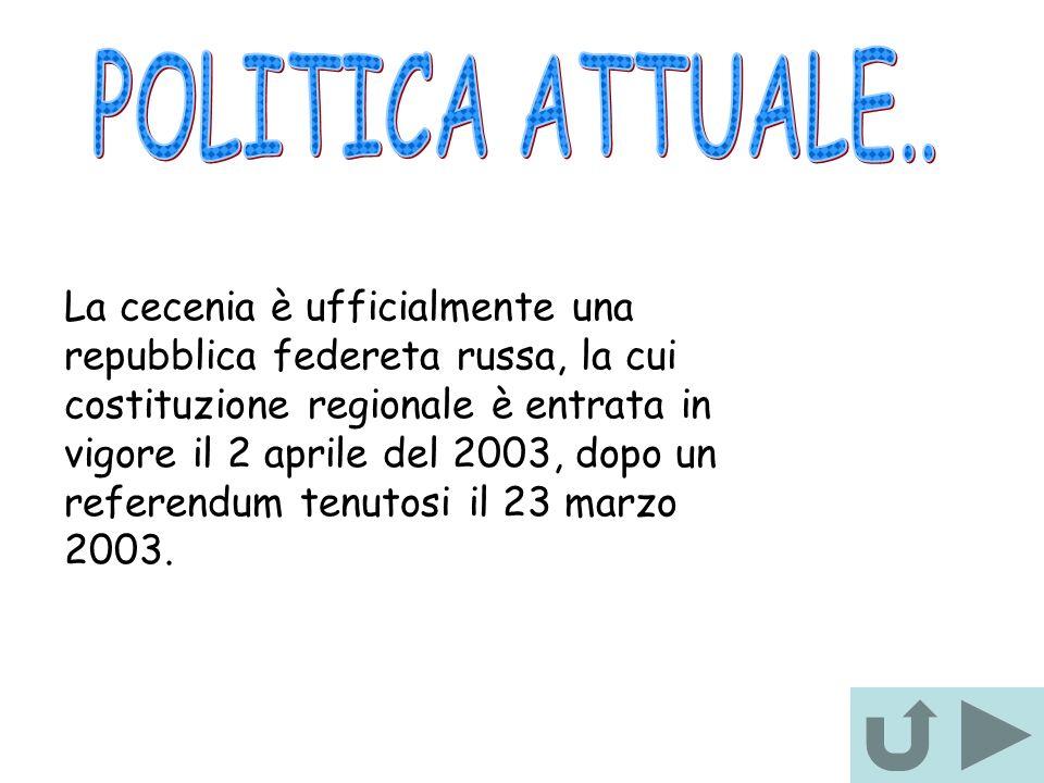POLITICA ATTUALE..