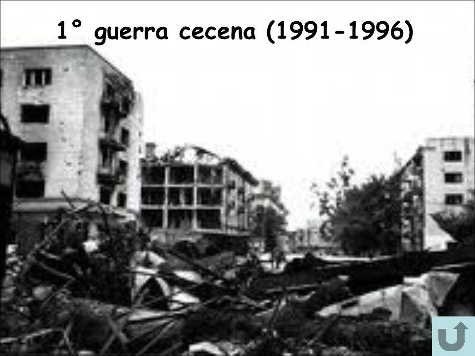 1° guerra cecena (1991-1996)