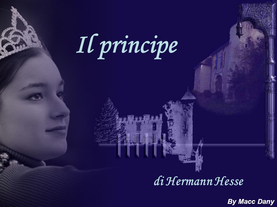 Il principe di Hermann Hesse By Macc Dany