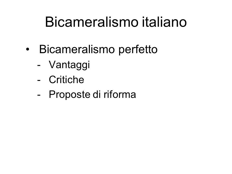 Bicameralismo italiano