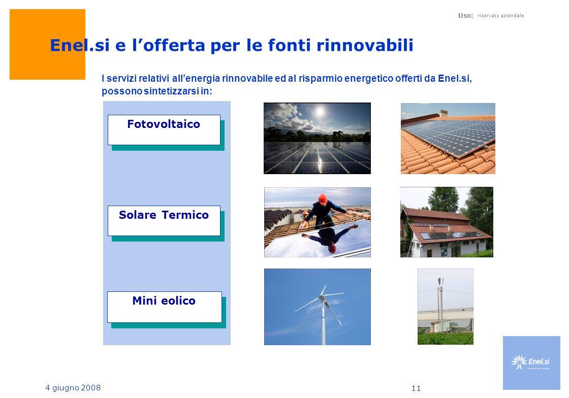 Enel.si e l'offerta per le fonti rinnovabili