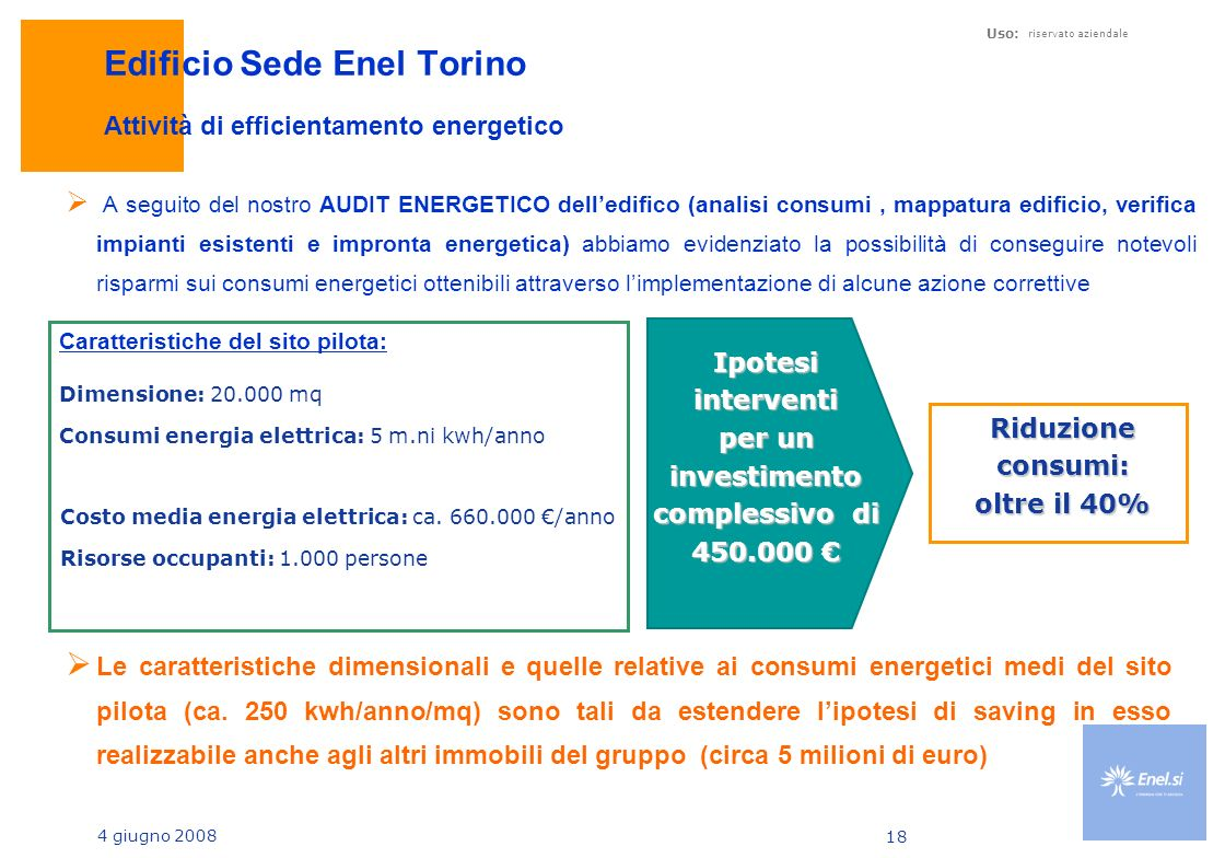 Edificio Sede Enel Torino