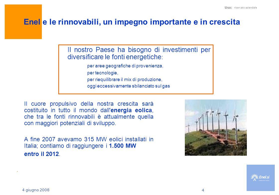 Enel e le rinnovabili, un impegno importante e in crescita