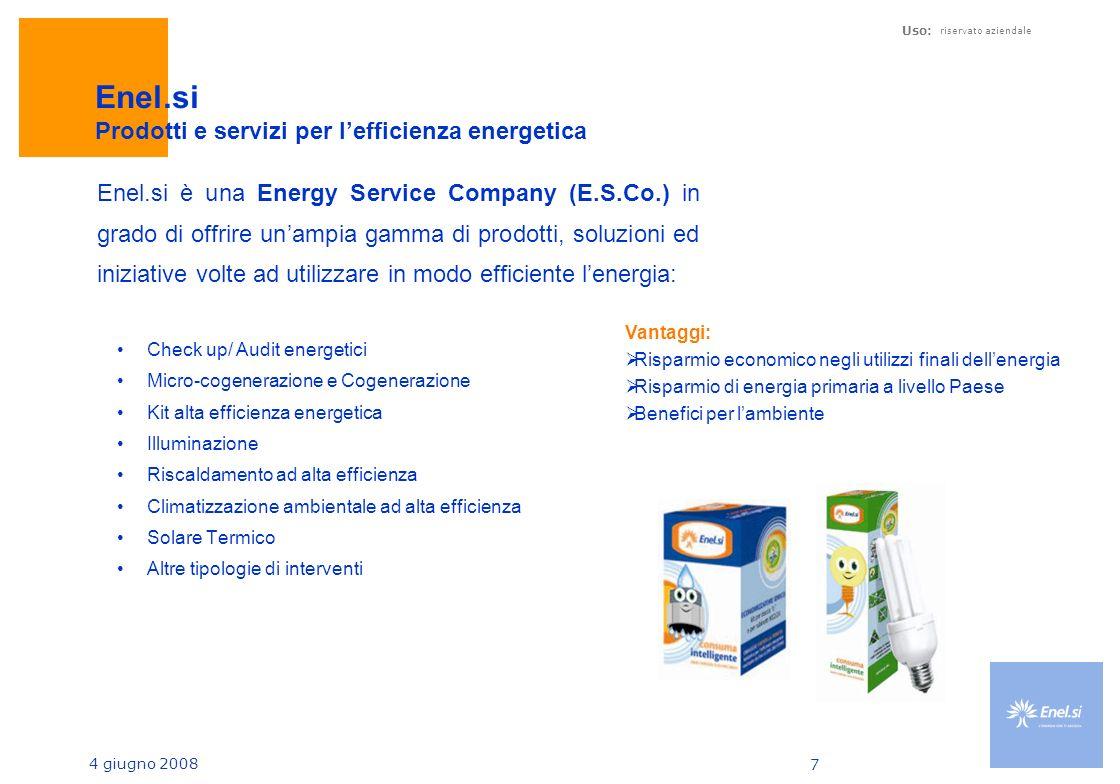 Enel.si Prodotti e servizi per l'efficienza energetica