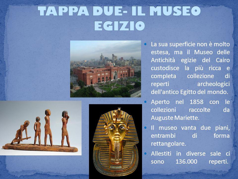 TAPPA DUE- IL MUSEO EGIZIO