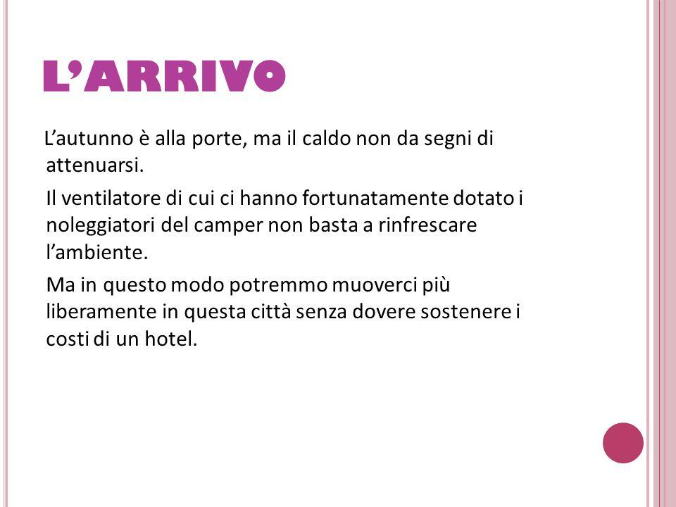 L'ARRIVO