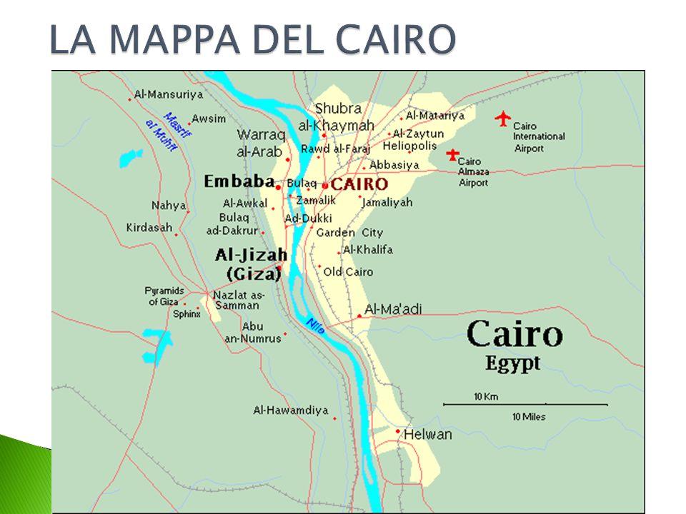 LA MAPPA DEL CAIRO