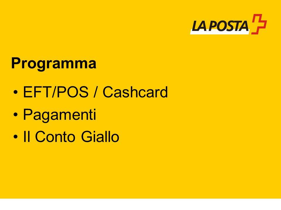 EFT/POS / Cashcard Pagamenti Il Conto Giallo