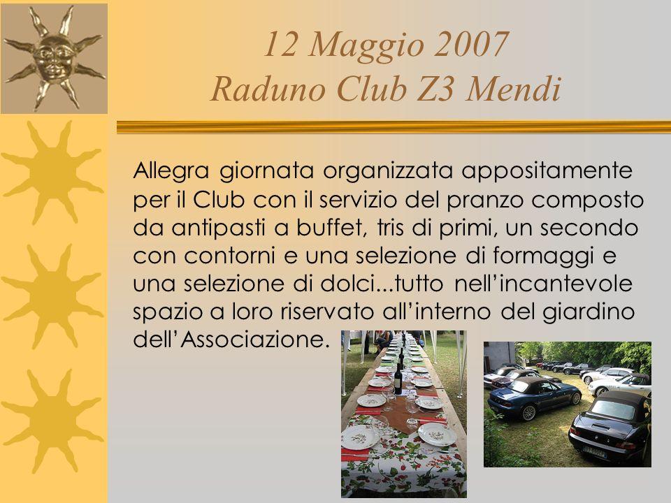 12 Maggio 2007 Raduno Club Z3 Mendi