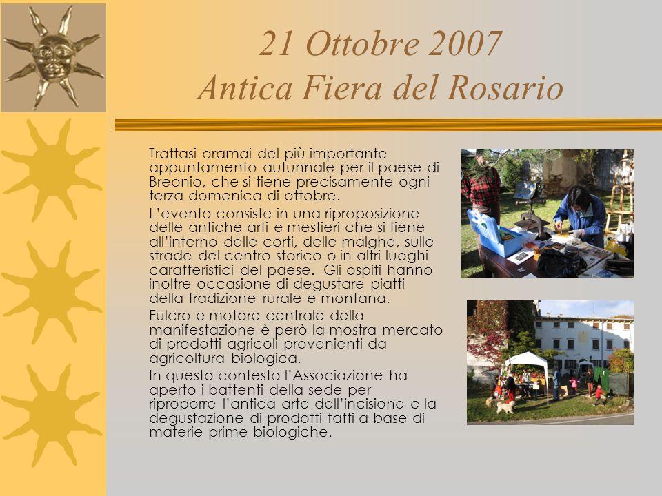 21 Ottobre 2007 Antica Fiera del Rosario