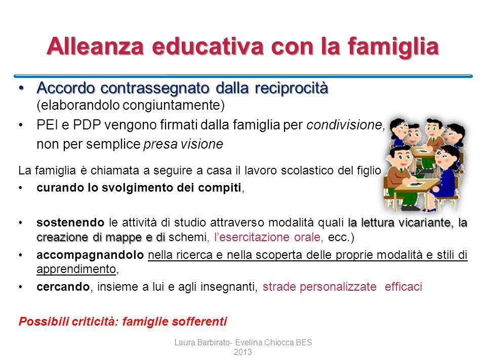 Alleanza educativa con la famiglia