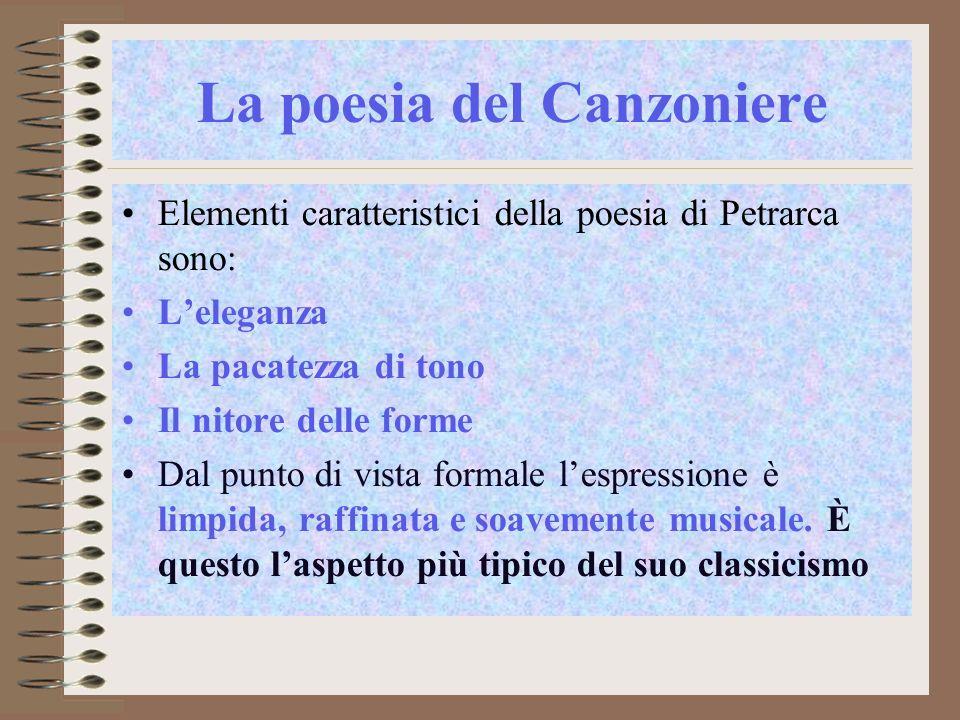 La poesia del Canzoniere