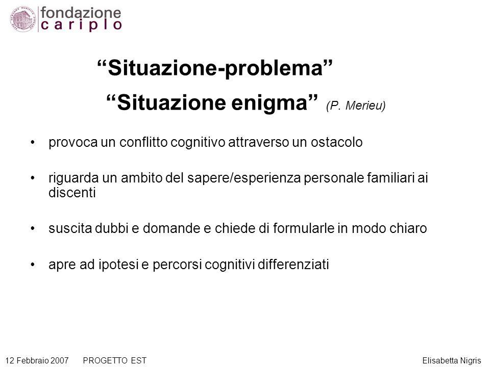 Situazione enigma (P. Merieu)