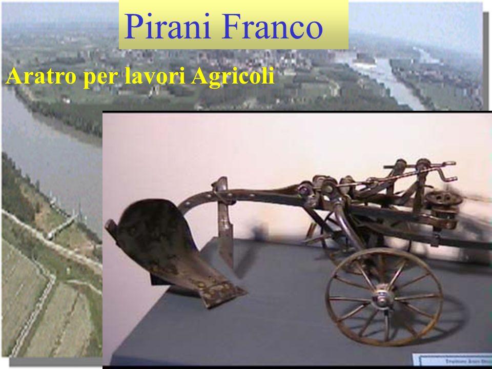 Pirani Franco Aratro per lavori Agricoli