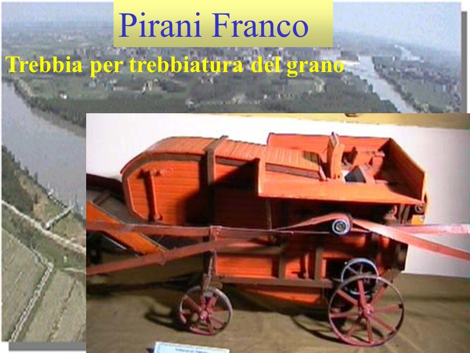 Pirani Franco Trebbia per trebbiatura del grano