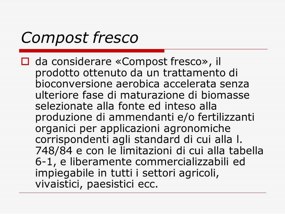 Compost fresco