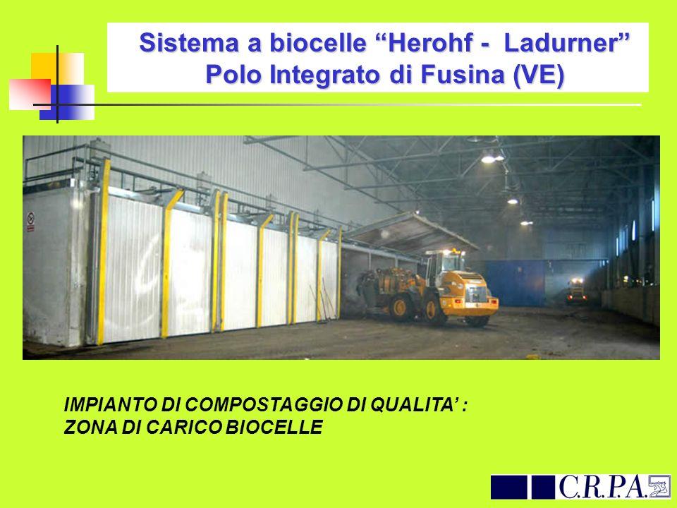 Sistema a biocelle Herohf - Ladurner Polo Integrato di Fusina (VE)