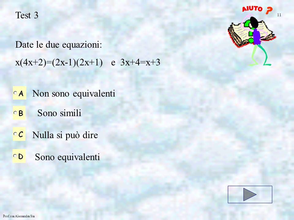 x(4x+2)=(2x-1)(2x+1) e 3x+4=x+3