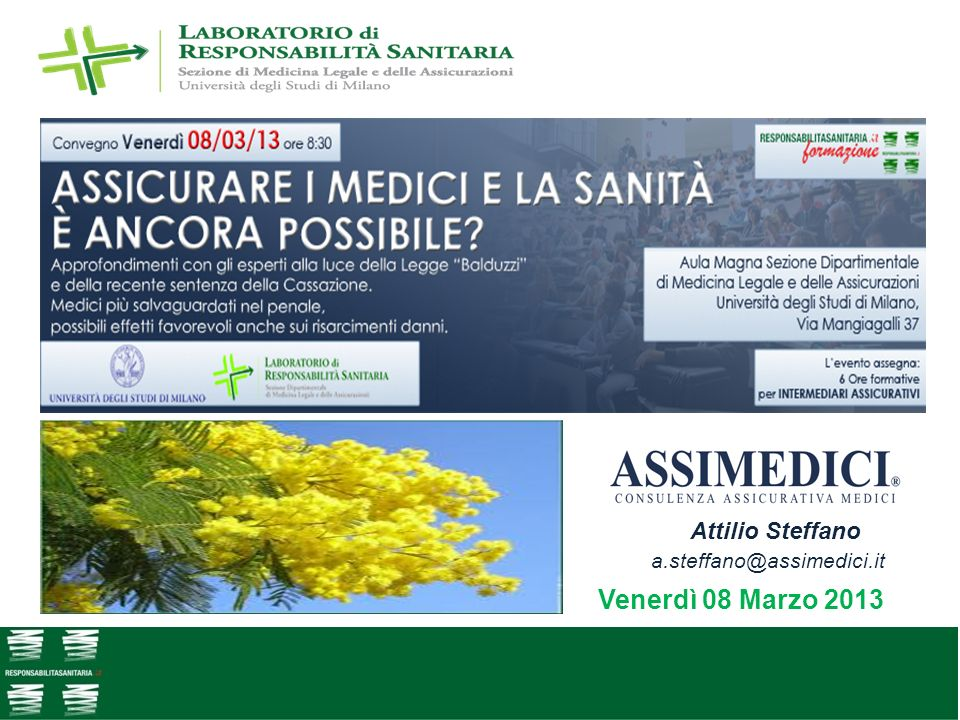Attilio Steffano a.steffano@assimedici.it