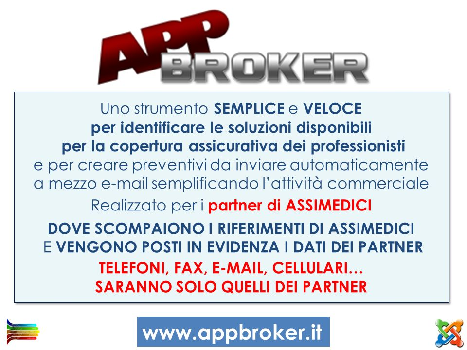 www.appbroker.it Uno strumento SEMPLICE e VELOCE