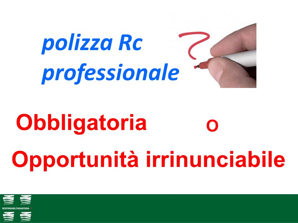 polizza Rc professionale