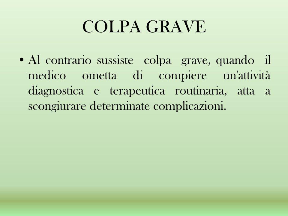 COLPA GRAVE