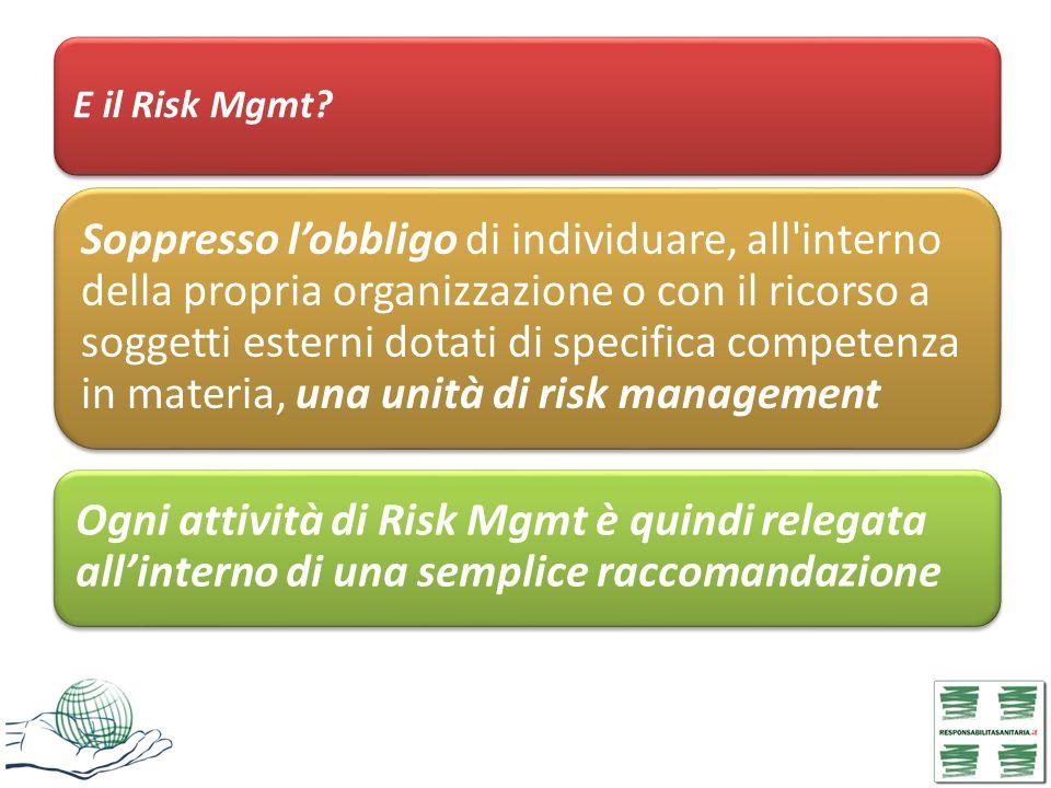 E il Risk Mgmt
