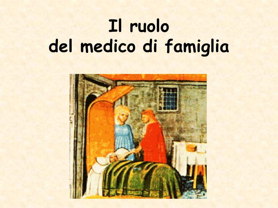 Il ruolo del medico di famiglia