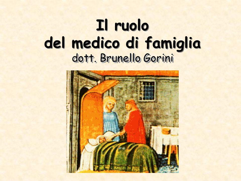 Il ruolo del medico di famiglia dott. Brunello Gorini