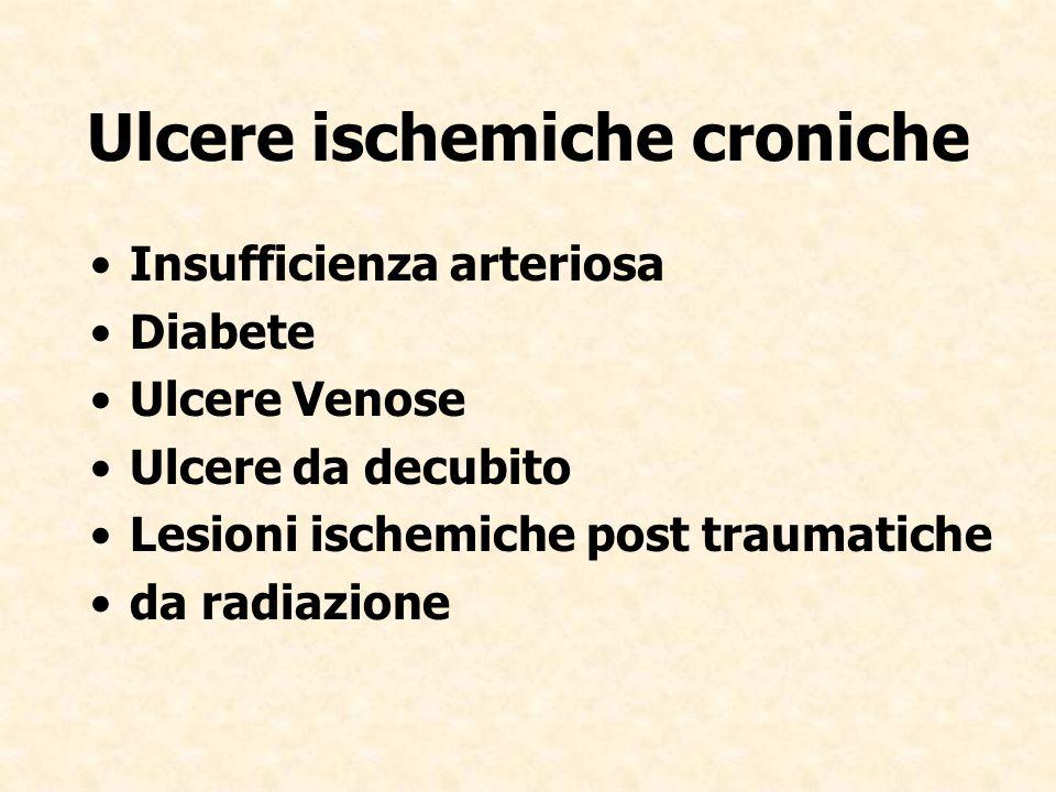 Ulcere ischemiche croniche