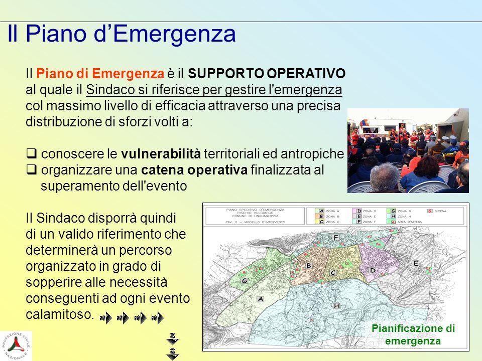 Pianificazione di emergenza