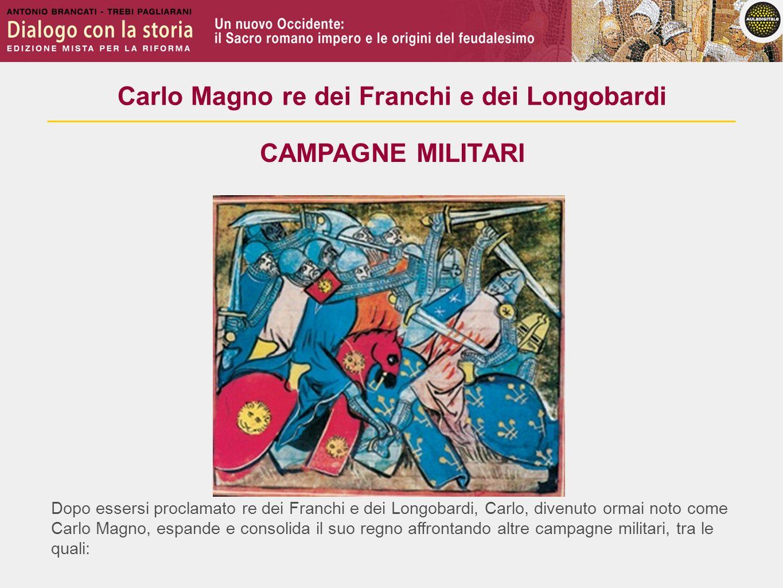 Carlo Magno re dei Franchi e dei Longobardi