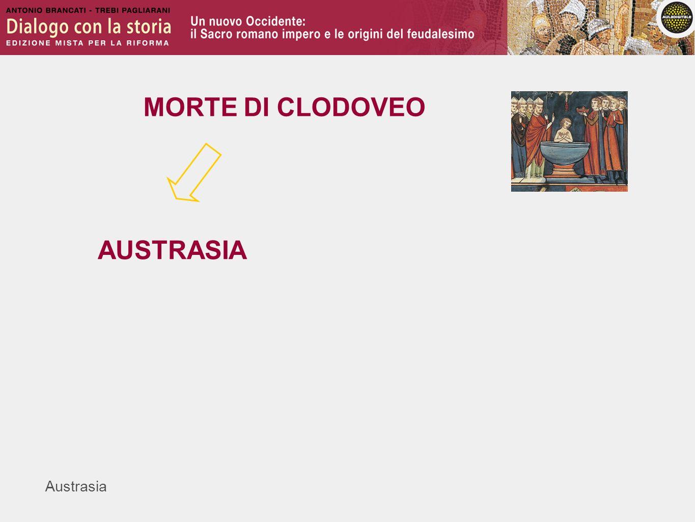 MORTE DI CLODOVEO AUSTRASIA