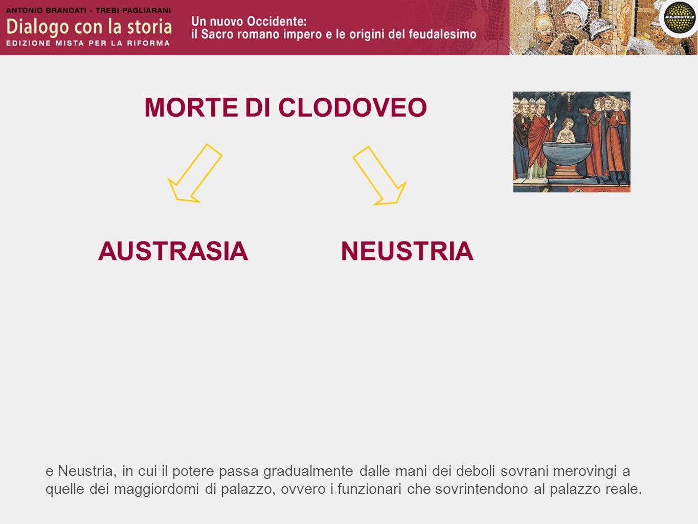 MORTE DI CLODOVEO AUSTRASIA NEUSTRIA