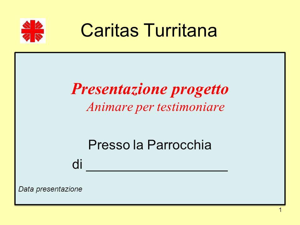Caritas Turritana Presentazione progetto Animare per testimoniare