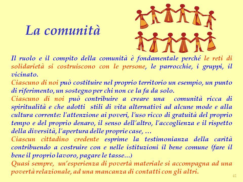 La comunità