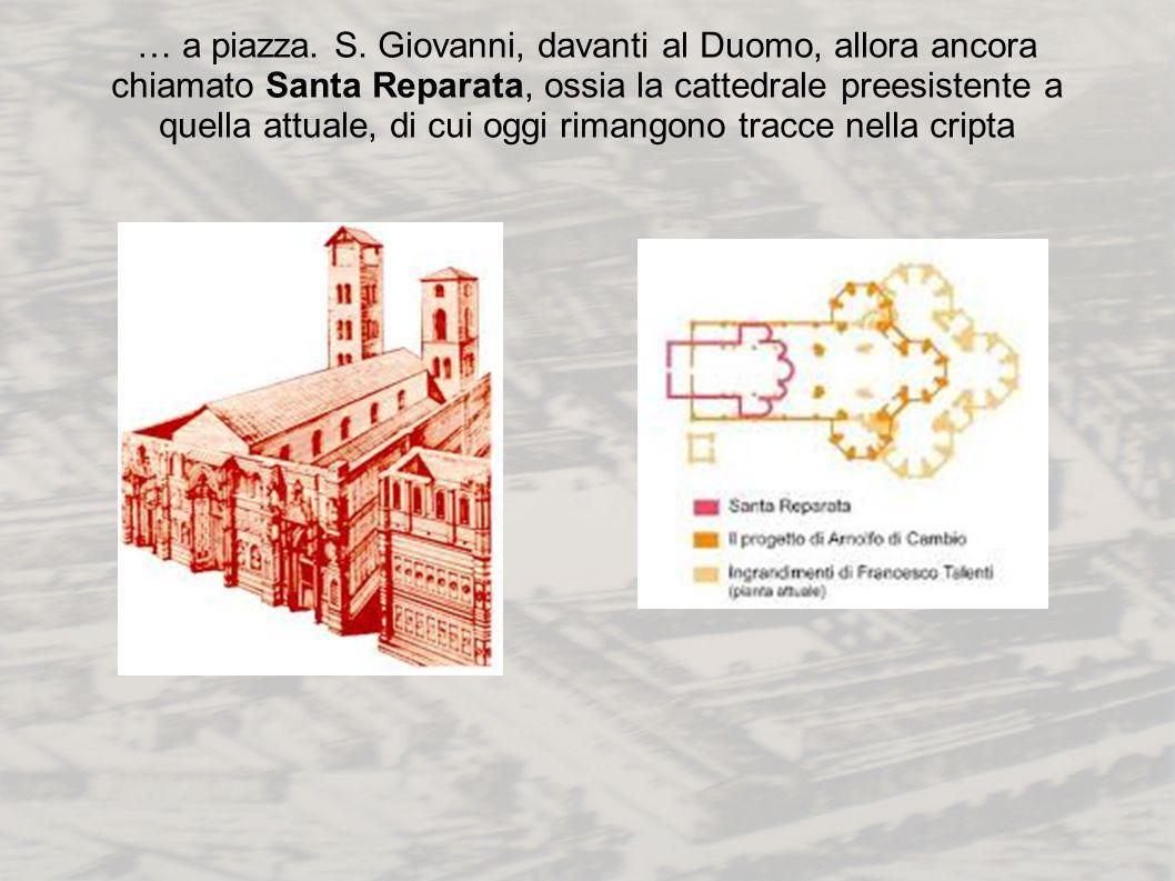… a piazza. S.