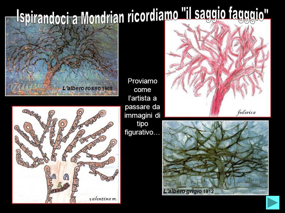 Ispirandoci a Mondrian ricordiamo il saggio fagggio