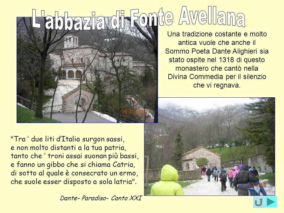 L abbazia di Fonte Avellana