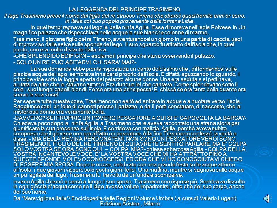 LA LEGGENDA DEL PRINCIPE TRASIMENO