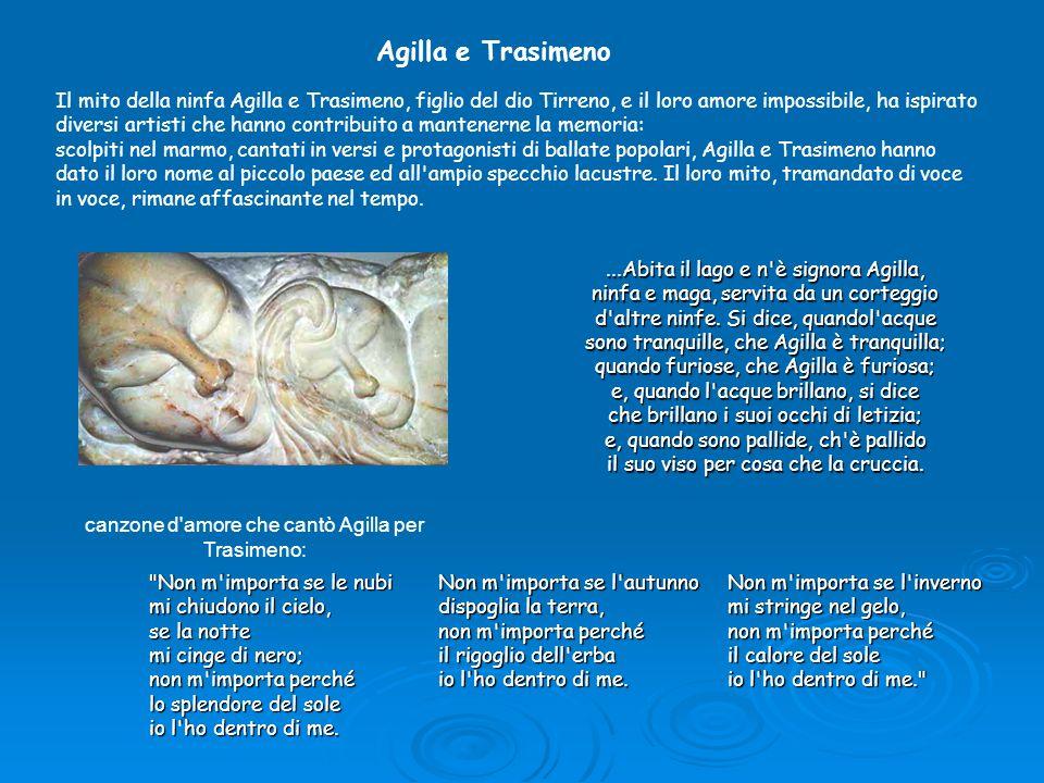 canzone d amore che cantò Agilla per Trasimeno: