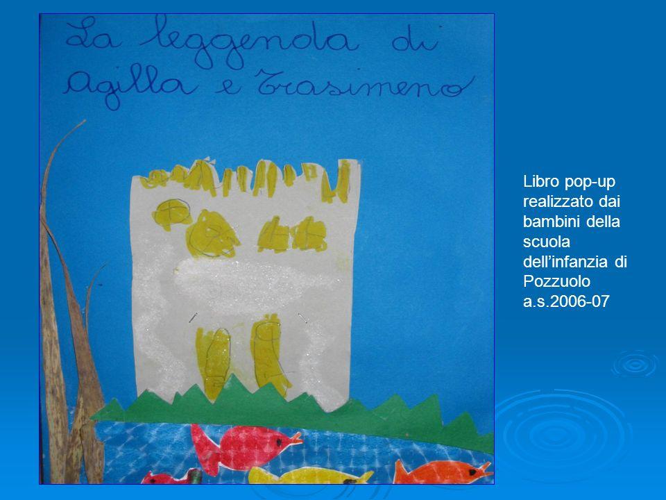 Libro pop-up realizzato dai bambini della scuola dell'infanzia di Pozzuolo