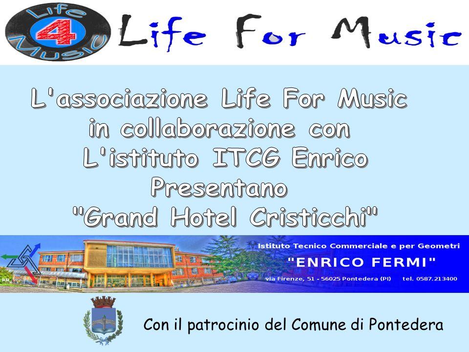 L associazione Life For Music Grand Hotel Cristicchi
