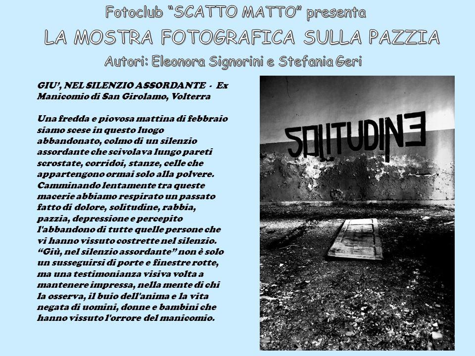 Fotoclub SCATTO MATTO presenta